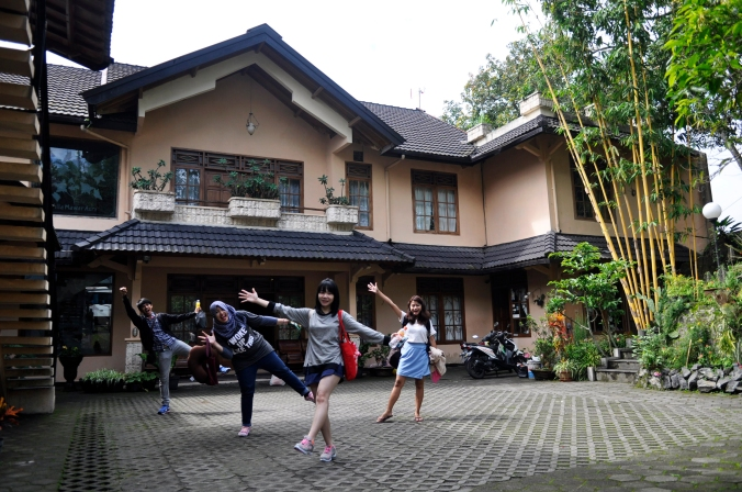 Villa at Kaliurang, Jogjakarta
